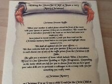 20 X PERSONALISED SCROLL INVITATIONS A4 WITH RIBBON CHRISTENING HEN NIGHT ETC