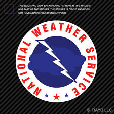 National Weather Service Sticker Decal Self Adhesive Vinyl Weather Bureau NWS
