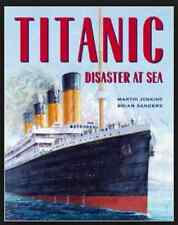Titanic Disaster at Sea by Martin Jenkins (2012, Paperback) Ages 8-12 Book only