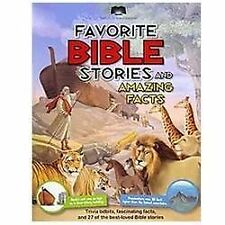 Bible Stories & Amazing Facts kids story book illustrated Christian 224p