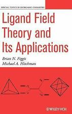 Special Topics in Inorganic Chemistry: Ligand Field Theory and Its...