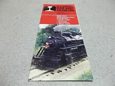 """Illinois Railway Museum"" Brochure June 1987 *FREE SHIPPING*"