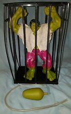 "1978 Vintage 12"" Incredible Hulk Rage Cage w/ Pump & Instructions Bruce Banner"