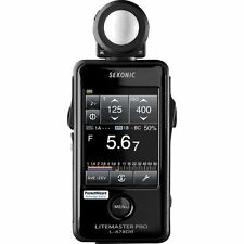 Sekonic Litemaster Pro L-478DR Photographic Light Meter (Black)