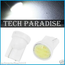 10x Ampoule T10 / W5W / W3W LED COB 3W 12 Chips Blanc White veilleuse lamp light