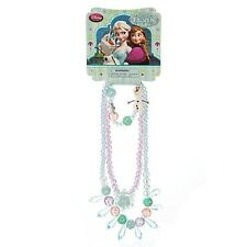 Girls FROZEN JEWELRY SET Anna Elsa Necklaces + Bracelet Disney Store Child Toy