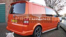 VW T5 VAN BUS 03-14 Rear door spoiler Sportline look 1 door TAILGATE cover Barn