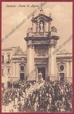 CATANIA CITTÀ 72 FESTA di SANT'AGATA - RELIGIONE FOLKLORE Cartolina viaggiata