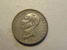 1849. Netherlands Silver 25 Cents -coin nr.10