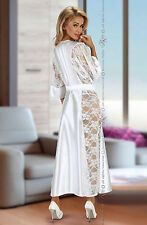 Beauty Night Bouquet White Dressing Gown S/M UK Size 8-12