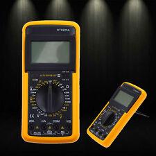 Digital DT9205A Multimeter LCD AC/DC Ammeter Resistance Capacitance Tester