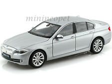 WELLY 24026 BMW 535i F10 5 SERIES 4 DOORS 1/24 DIECAST GREY
