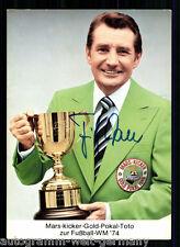 Fritz Walter (+) DFB Weltmeister 1954 TOP AK Original Signiert +A 58639