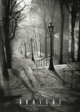 BRASSAI: Les Escaliers de Montmartre, Paris PHOTO ART PRINT 20x28 France Poster