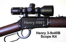 3-9x40B Mini-Scope Kit for Henry Lever Action 22 Rifle