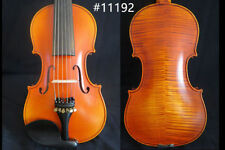 Hand made solid wood SONG Brand Strad style 6 strings 4/4 violin #11192