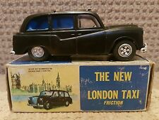 The New London Taxi - 1960s plastic -Black - vintage - collectable - Rare