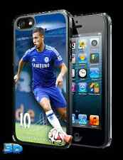 EDEN HAZARD 3D IPHONE 5 o 5S Custodia Rigida Ufficiale Chelsea Merce Nuova