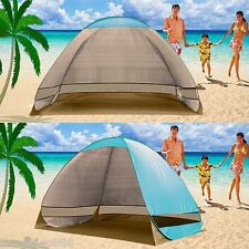 Instant Pop Up beach Shelter Tent Shade UV Camping Outdoor Garden Park 3 Person
