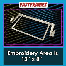 "Fast Frames 12"" x 8"" Standalone Bag Embroidery Hoop Brother PR 6 & 10 Needle"