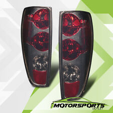 2004-2012 Chevy Colorado/GMC Canyon Red Smoke Rear Brake Tail Lights Lamps Pair