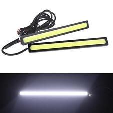 2pcs Super White Waterproof COB 12V 14CM LED Lights As DRL Fog Driving Light New