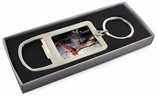 Sea Shrimp Chrome Metal Bottle Opener Keyring in Box Gift Idea, AF-25MBO