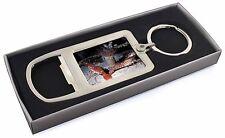 Sea Shrimp Chrome Metal Bottle Opener Keyring in Box Gift Idea, AF-25MBO