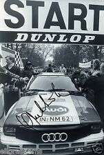 "World Rally Championship Driver Hannu Mikkola Hand Signed Photo 12x8""  AC"