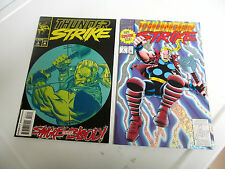 MARVEL COMICS *THUNDER STRIKE *1993 # 1. FIRST ISSUE. & # 3. F/F