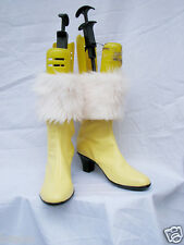 Final Fantasy XIII FF13 Vanille Cosplay SHOES Custom