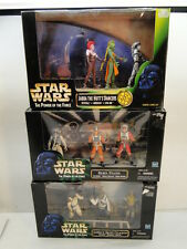STAR WARS ACTION FIGURES LOT POTF MOVIE SCENES JABBA SKIFF GUARDS PILOTS DANCERS