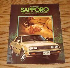 Original 1979 Plymouth Sapporo Sales Brochure 79