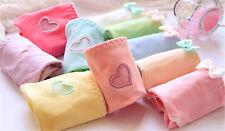 Fashion Women's 12 pcs Mix Color Random Pants Lady Bow Love Cotton Underwear