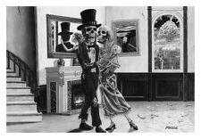 LAST DANCE - TOM MASSE ART POSTER 22x32 - SKELETONS GOTHIC 159289