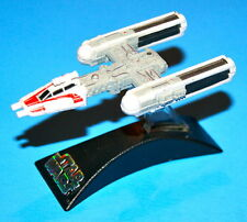 MICRO MACHINES STAR WARS Y-WING FIGHTER RED TITANIUM SERIES DIE-CAST