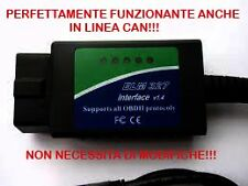 AUTODIAGNOSI OBD2 DIAGNOSI COMPLETA-AGGIORNATA 2016!!! PUNTO/PANDA NATURAL POWER