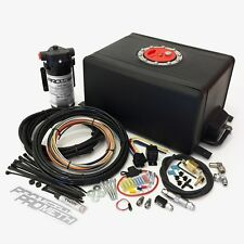 Alcohol Injection Systems Stage 1 Water Methanol System Kit 3 GPH 3 Gallon Tank