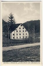 SÄCKINGEN Gasthaus Wickartsmühle von J Haberstroh * AK um 1910