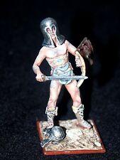 St Petersburg. Amber. Roman Warrior w/Sword & Shield Standing on Helmet, 54mm