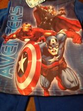 NEW Marvel Avengers Assemble Pajamas Size 5 Young Boys. MSRP$29.99++++