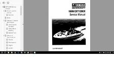 Yamaha Jet Boat service manual Exciter 1999 EXT1200X Service Manual Library