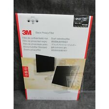 "3M PF21.5W9 Privacy Filter Black For 21.5"" Monitors New Sealed"