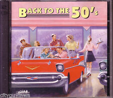 BACK TO THE 50s Various Artists 1993 Heartland Music 2 CD Set As Seen on TV RARE