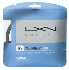 LUXILON ALU POWER Soft 16L tennis racquet racket string -silver -Novak Djokovic