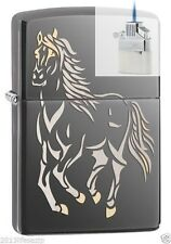 Zippo 28645 galloping horse Lighter & Z-PLUS INSERT BUNDLE