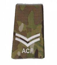 New Multicam MTP ACF Corporal CPL RANK SLIDE ( Cadets Army Cadet Force