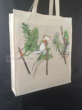Stunning Tree Frog Natural Cotton Shopping Bag Tote Long Handles Perfect Gift