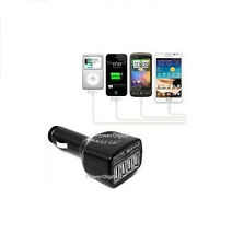 4 Port USB Car Charger Adapter For HTC EVO Samsung Motorola Android iPhone 5 4S