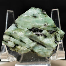 150 Ct. Emerald Rough in Matrix Natural High Quality Crystal Mineral Cab -Brazil